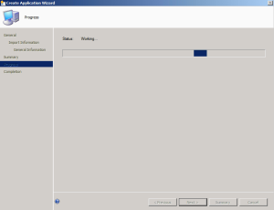Create Application SCCM 4