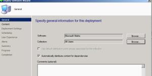 Deploying Application SCCM 1