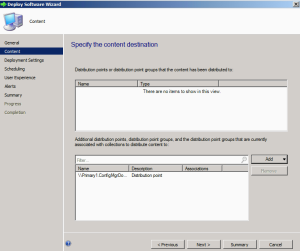 Deploying Application SCCM 2