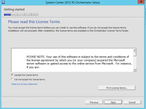 System Center Orchestrator Installation Step by Step