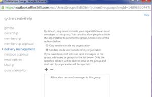 Distribution Group Exchange 2013 Online 11