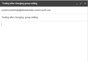 Distribution Group Exchange 2013 Online 12
