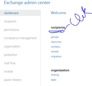 Distribution Group Exchange 2013 Online 2