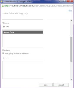Distribution Group Exchange 2013 Online 6
