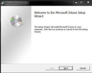 Intune Client Agent Installation - 2
