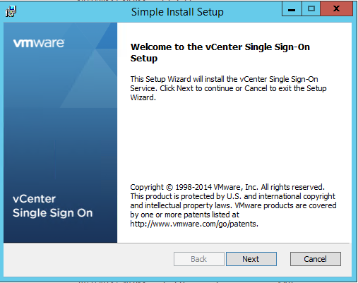 Vmware VCenter 5.5 Installation Step by Step (1/6)