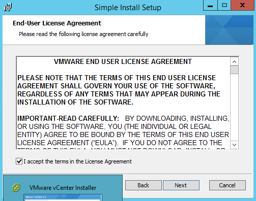 Vmware VCenter 5.5 Installation Step by Step (2/6)