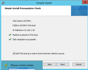 Vmware Vcenter Installation 3