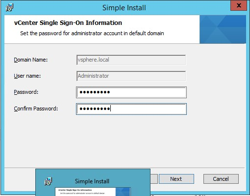Vmware VCenter 5.5 Installation Step by Step (4/6)