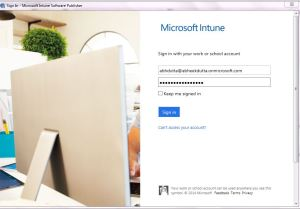 Software Deployment Using Microsoft Intune