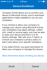 Manage IOS Devices Using Intune